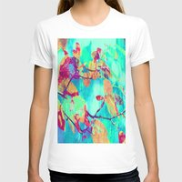 surrealism T-shirts featuring Autumn fantasy surrealism leaves by Die Farbenfluesterin