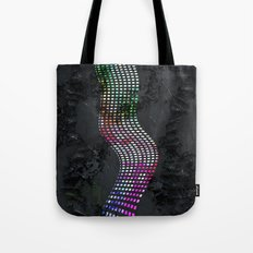 Wavy line colorful Tote Bag