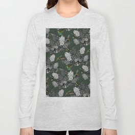 Hummingbirds and Bees (don't let them fade away) Long Sleeve T-shirt