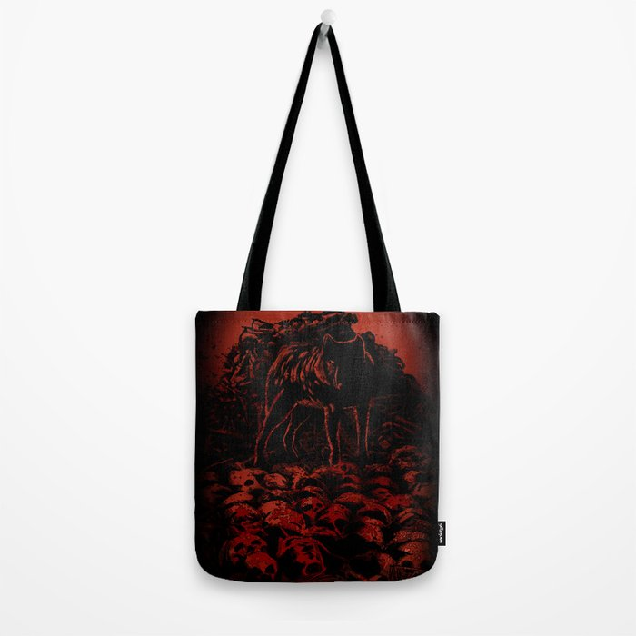 WOLFTHRONE Tote Bag