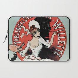 1894 Paris Art Exposition Willette Laptop Sleeve