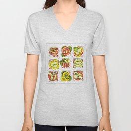 go vegan! Unisex V-Neck