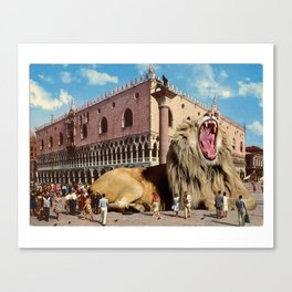 The Lion of San Marco Canvas Print