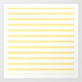 Yellow Stripe Art Print
