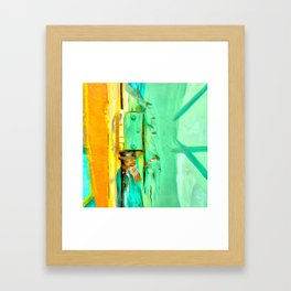 Creation seems to come out of imperfection Framed Art Print