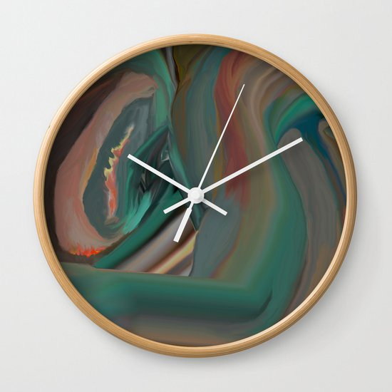 Running From Death Wall Clock
