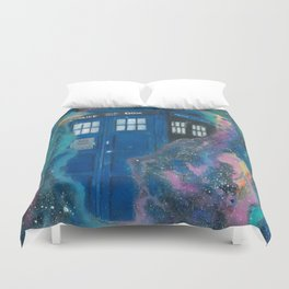 Doctor Who - Tardis Duvet Cover