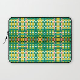 Calypso Tartan / Mango Verde Laptop Sleeve