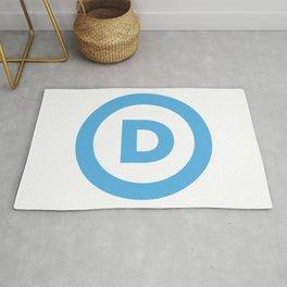 Democratic Party Logo Rug