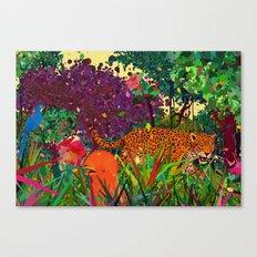 amazonic Canvas Print