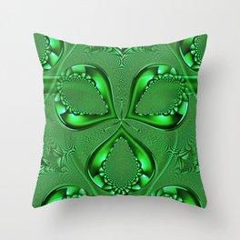 Emerald Green - HS Series Throw Pillow