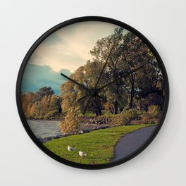 Lachine Bord de L'Eau Wall Clock
