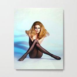 Classic Bardot Metal Print