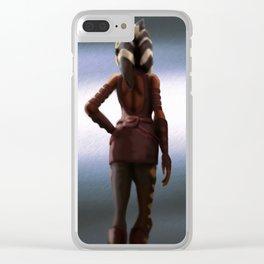 Ahsoka Tano Clear iPhone Case