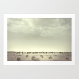 Nomad Trekking Art Print