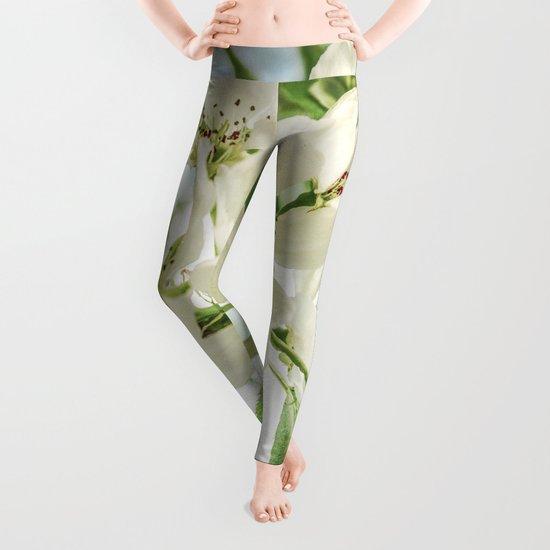 the Apple blossoms Leggings