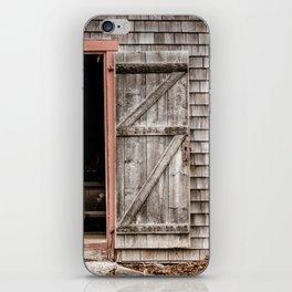 Ross Farm door iPhone Skin