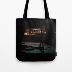 Night bow Tote Bag
