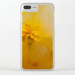 Marigold I Clear iPhone Case