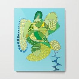 Love, Turtle Metal Print