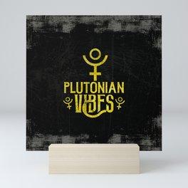 Plutonian Vibes Mini Art Print