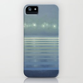 Foggy Lagoon iPhone Case