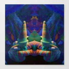 Sea Creature #2: The Shy Snailman Canvas Print