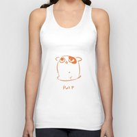 pulp Tank Tops featuring Pulp by jayxle