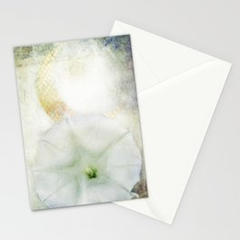 Moon Flower Stationery Cards