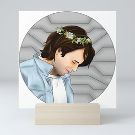 Flower Crown Mini Art Print
