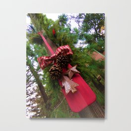 Christmastime Decor Metal Print