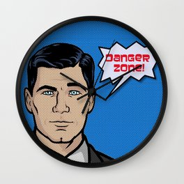 Archer Comic Wall Clock