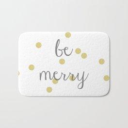 Be Merry Bath Mat