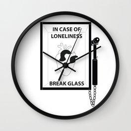 Emergency Wall Clock