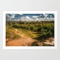 Russian landscapes 2 Art Print