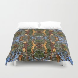 MADRONA TREE DEAD OR ALIVE Duvet Cover