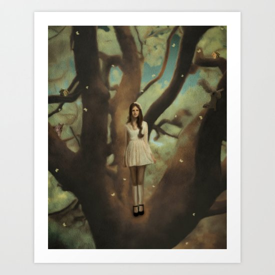 ALICE'S DREAM Art Print