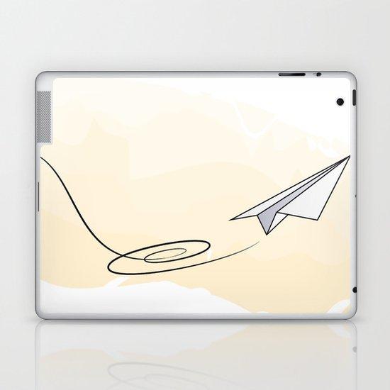 Paperplane Laptop & iPad Skin