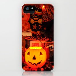 A Very Vintage Halloween iPhone Case
