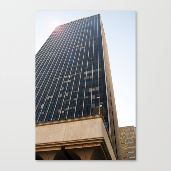 City Tower Canvas Print