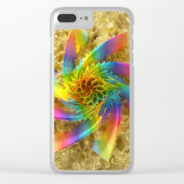 Hueaxial Clear iPhone Case