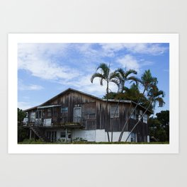 Old house at the Big City Art Print