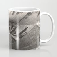 1989 Mugs featuring Dam Reticulation - the Void by Bruce Stanfield