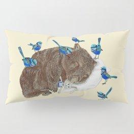 Wrens Wombat sleep Pillow Sham