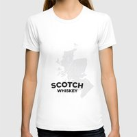 whiskey T-shirts featuring Scotch Whiskey by Stephen John Bryde