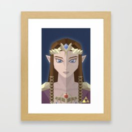 The Princess of Hyrule Framed Art Print