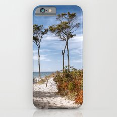 Entrance to the Sea - Ocean Beach Trees Slim Case iPhone 6