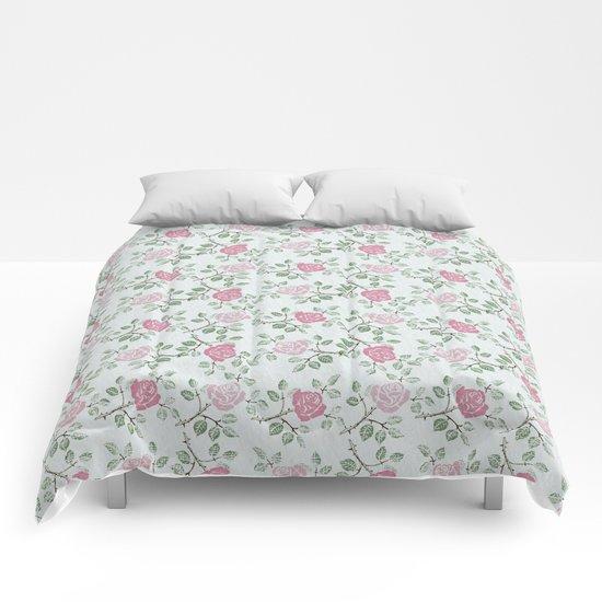 Rose Print Comforters