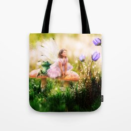 The Toadstool Faerie Tote Bag
