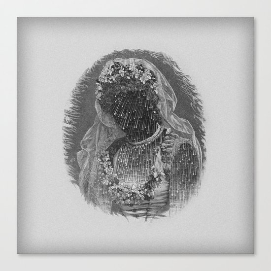 Bride III Canvas Print